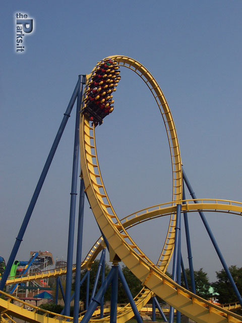 Six Flags Great Adventure Chang trasloca dal Kentucky al New Jersey