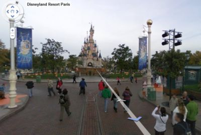 Disneyland Paris (Resort) Visita Disneyland Paris con Google Street View