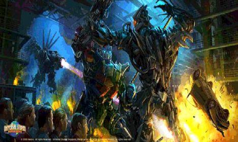 Universal Studios Singapore Transformers e le altre novità per il 2011