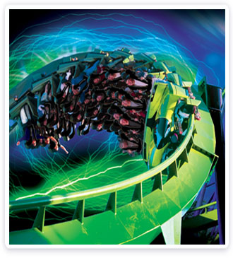 Six Flags Great Adventure Novità 2011: lo Stand-Up coaster Green Lantern