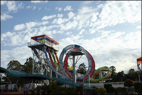 Wet'n'Wild Water World Australia Inaugurati 4 nuovi scivoli con loop