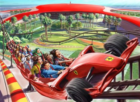 Ferrari World Abu Dhabi Formula Rossa: la celebrazione della velocità!