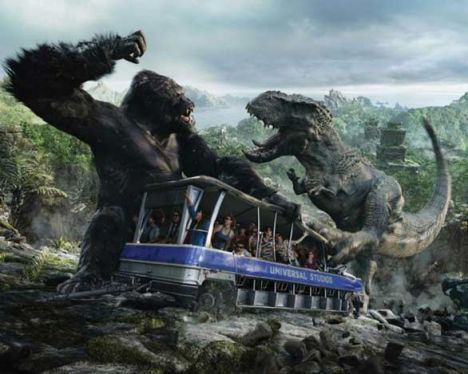 Universal Studios Hollywood King Kong e il ritorno su Skull Island