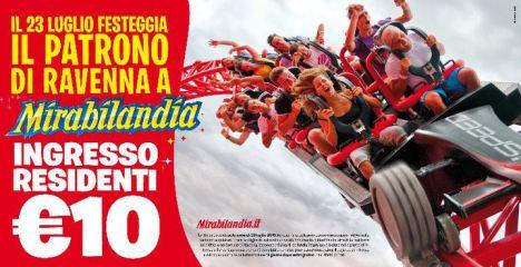 Mirabilandia Abiti a Ravenna? Entri a 10 euro !