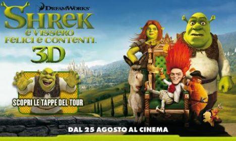 Canevaworld Movieland Park (Resort) Shrek promuove l'uscita del suo film