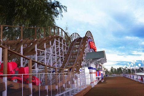 Tivoli Gröna Lund Twister : ecco il wooden coaster 2011
