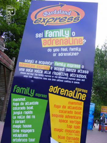Gardaland Vuoi saltare la coda? Il pass costa fino a 25 euro !