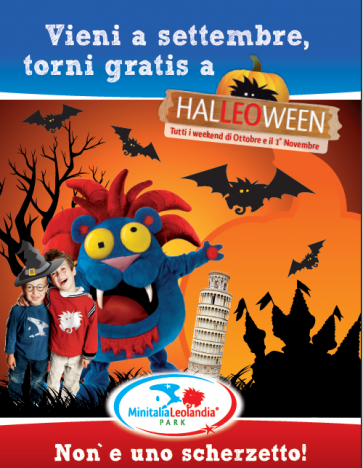 Leolandia Gratis ad Halloween e promo famiglie