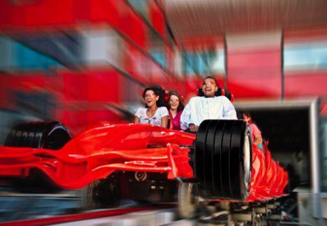 Ferrari World Abu Dhabi Un'anteprima del parco che aprirà il 4 Novembre.