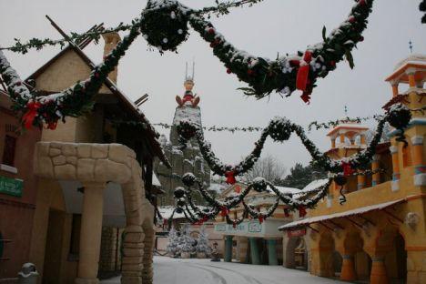 Parc Asterix Chiuso per neve! (come il vicino Disneyland Paris)