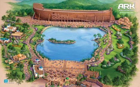 Ark Encounter Un parco sulla Bibbia dentro l'Arca di Noè
