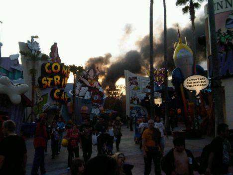 Universal's Islands of Adventure Incendio agli Universal Florida, chiusa un'area del parco
