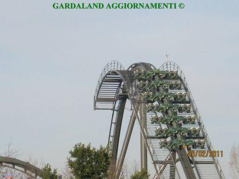 Gardaland In foto i primi test di Raptor !