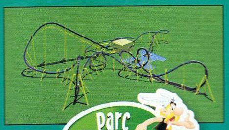 Parc Asterix Prime immagini e lavori del nuovo inverted B&M