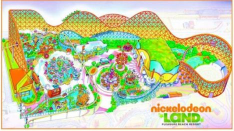 Blackpool Pleasure Beach Ecco la nuova area Nickelodeon Land