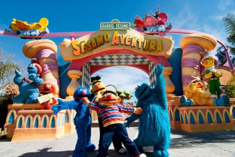 PortAventura Park Sesamo Aventura la novità 2011 inaugura l'8 Aprile