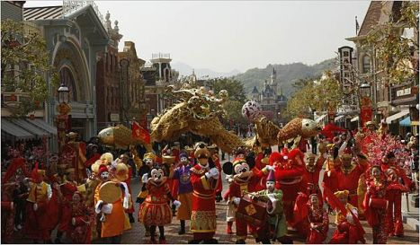 Shanghai Disneyland Park Epcot, Magic e Animal Kingdom per la Cina