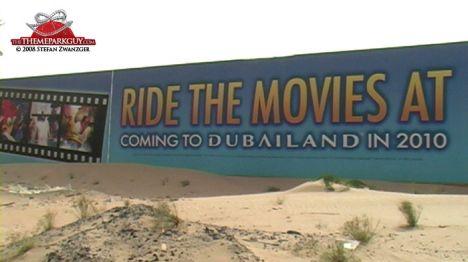 Dubailand Universal Studios Dubai, progetto abbandonato?