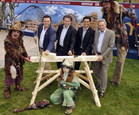Europa Park Mythos: primo wooden coaster del parco nel 2012