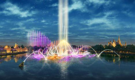 Efteling Aquanura : il nuovo show acquatico più grande d'Europa