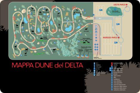 Dune del Delta Il nuovo zoo di Ravenna