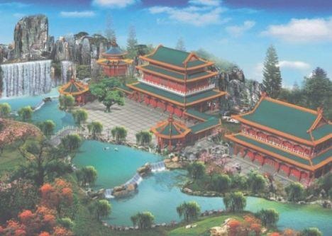 Vision of China Un nuovo parco a tema per l'Inghilterra