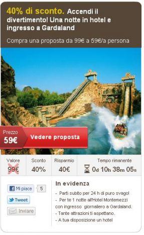 Gardaland, Acquasplash Franciacorta, Acquaworld - Con i gruppi d'acquisto sconti per i parchi