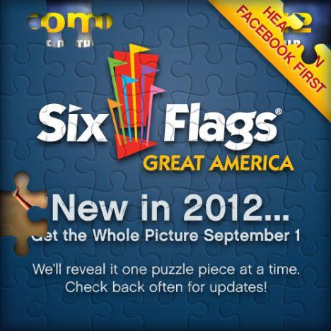 Six Flags Great America La novità 2012 sarà un Wing Coaster ?