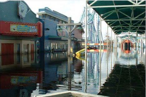 Uragano Irene - Chiusi molti parchi divertimento della east coast