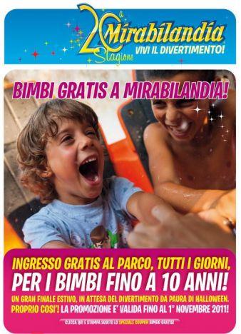 Mirabilandia Tutte le promozioni di fine stagione