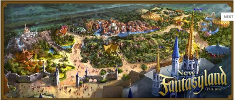 Magic Kingdom Per il 2013 la nuova Fantasyland e un Mine Train