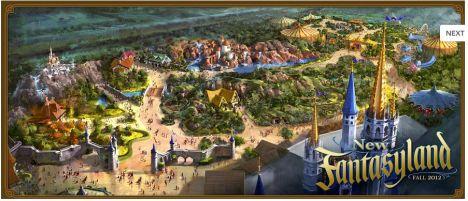 Magic Kingdom Per il 2013 la nuova Fantasyland e un Mine Train