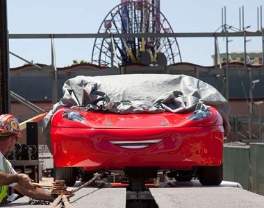 Disney's California Adventure Cars Land, arriva l'evoluzione di Test Track
