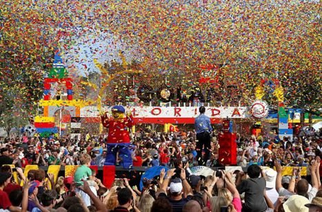 Legoland Florida Celebration Day, inaugurazione del parco