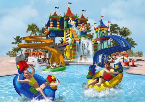 Legoland Florida Presto i Lego anche in piscina