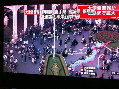 Tokyo Disneyland I video del terremoto nei parchi divertimento