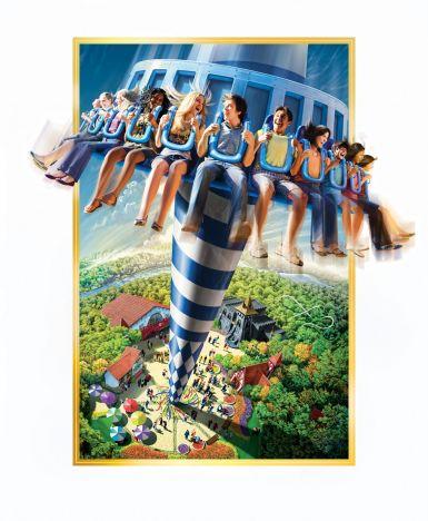 Busch Gardens Williamsburg Una torre come novità 2011