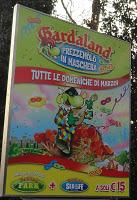 Gardaland Prezzemolo in maschera, apertura speciale per Marzo 2012