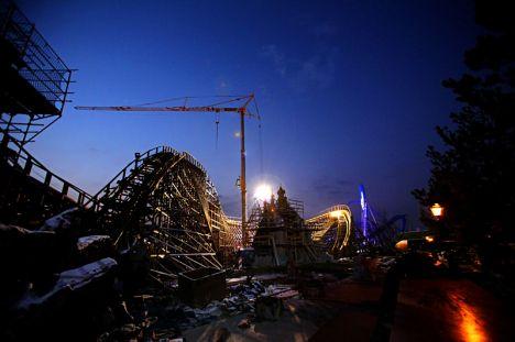 Europa Park Wodan è quasi pronto per l'apertura, ecco i test
