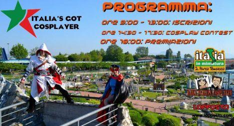 Italia in Miniatura Il 29 Luglio i Cosplayer animeranno il parco