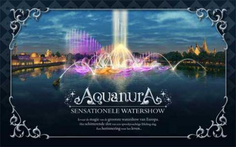 Efteling Il video dello spettacolo acquatico Aquanura