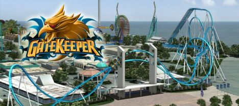 Cedar Point GateKeeper è il nuovo winged da record
