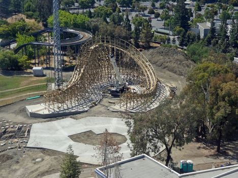 California's Great America Gold Striker è il nuovo Wooden californiano