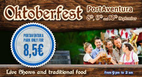 PortAventura Park Oktober Fest al parco, ingresso ridotto e nuovi spettacoli