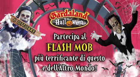 Gardaland Il 6 Ottobre il Flash Mob di Halloween (ingresso a 10 euro)