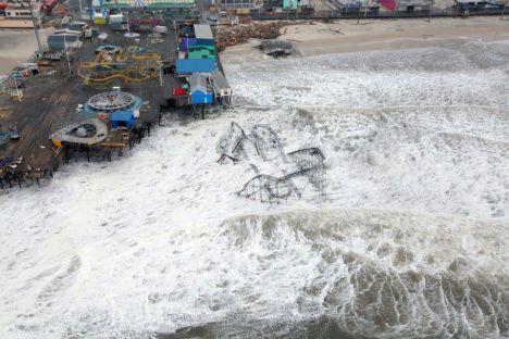 Funtown Pier - Spazzato via da Sandy il Luna Park di Atlantic City