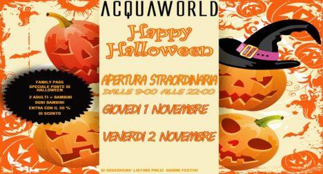 Acquaworld (Concorezzo) Perchè non un tuffo (scontato) per Halloween?