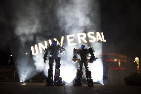 Universal Studios Florida Transformers 3D The Ride anche per Orlando