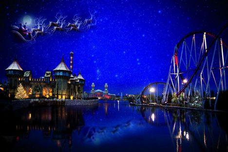 I parchi a Natale - Il presepe di cioccolato, quello subacqueo, i mercatini, le offerte