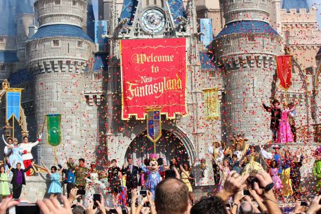 Magic Kingdom I video dell'inaugurazione di Fantasyland